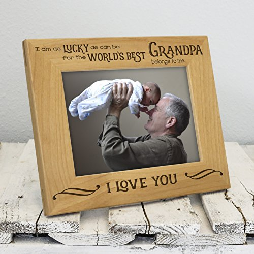Amazoncom Worlds Best Grandpa Picture Frame Fathers Day Gifts