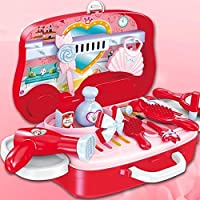 FunBlast Pretend Play Cosmetic and Makeup Toy Set Kit for Little Girls & Kids, Beauty Salon Toys