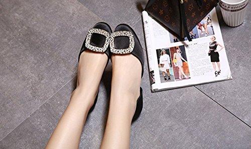 Summer All'usura Resistenti Scarpe Sandals LJO Womens Heel Comode Flat Fashion A Iqf4xSwf