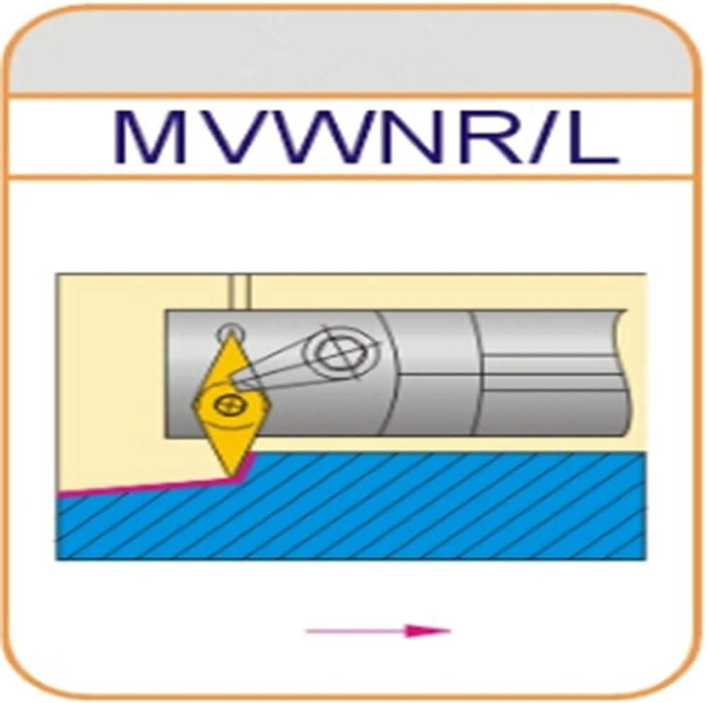 Gaobey 72.5/°S25S-MVWNL16 Index Internal Lathe Turning Holder For VNMG Inserts