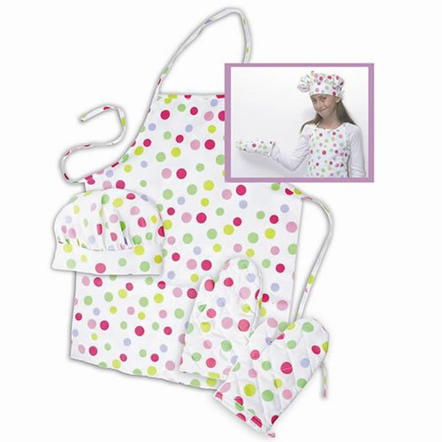 The Little Cook Apron Set