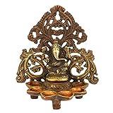 AapnoCraft Large Diya Ganesha Statue/Idols Handmade Hindu God Ganpati Oil Lamp Idols Ganesh(Vinayak) Hinduism Sculpture Diwali Gifts