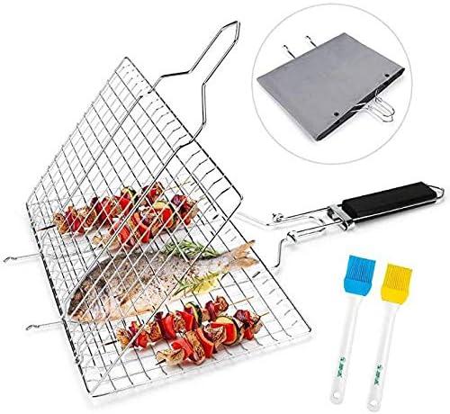 Yantai 304 Filet de gril en acier inoxydable pour barbecue