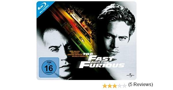 ... and the Furious - Quersteelbook Alemania Blu-ray: Amazon.es: Ted Levine, Paul Walker, Vin Diesel, Jordana Brewster, Chad Lindberg, Michelle Rodriguez, ...
