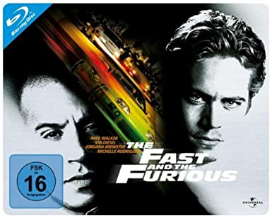 The Fast and the Furious - Quersteelbook [Alemania] [Blu-ray]