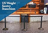 US Weight Sentry Stanchion with 6.5 Foot