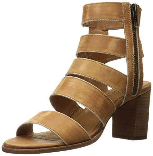 Corso Como Women's Elise Dress Sandal, Camel Worn Leather, 7.5 US/7.5 M US by Corso Como