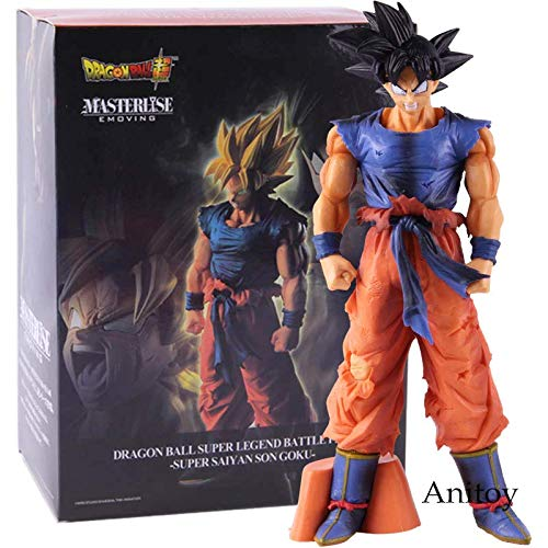 a4c3fb1de8 Galleon - 26cm (10.2 Inch) Dragon Ball Super Saiyan Son Goku PVC Figure /  3STYLE (C)