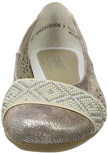 Womens 31 Shoes Rieker Beige Rose Beige L8357 xIHH57wq