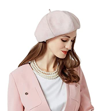 FADVES Fashion French Beret Hats Autumn Winter Warm Casual Beanie Cap  Vintage Hat at Amazon Women s Clothing store  19612e43740