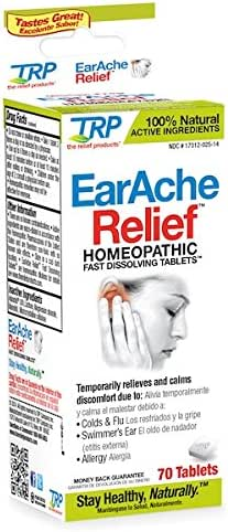 TRP Company Earache Relief, 70 Count