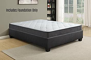 spinal solution boxsping foundation platform bed for full size mattress comes with legs to eliminate - Platform Bed Frames Full