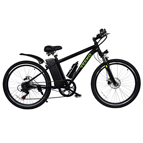 New leopard 26 inch 250 300w motor electric 6 speed for Electric bike motor reviews