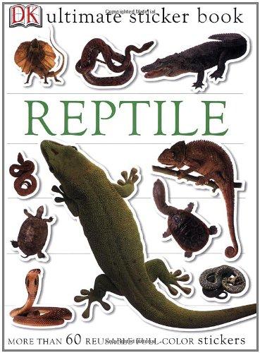 Ultimate Sticker Book: Reptile (Ultimate Sticker Books)