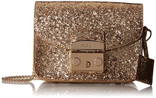 furla gold handbag eBay