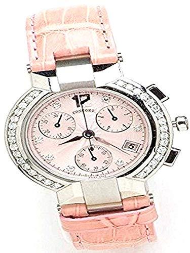 Concord La Scala Chronograph with Diamond Markers and Diamond Bezel Women's Watch (Scala Concord Chronograph La)