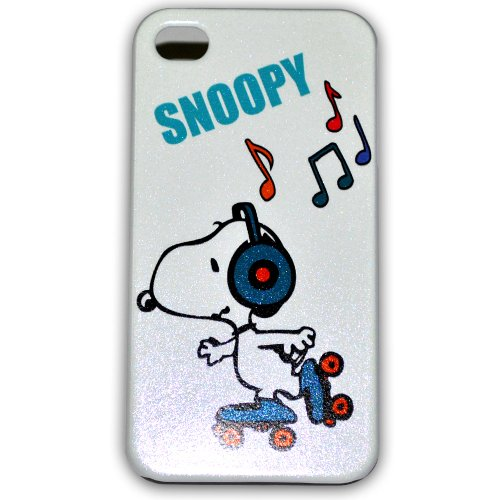 Ec00165b Snoopy Bling Iphone 4s Case Hard Case Cover for Apple Iphone4 4g/4s + Free Screen ()