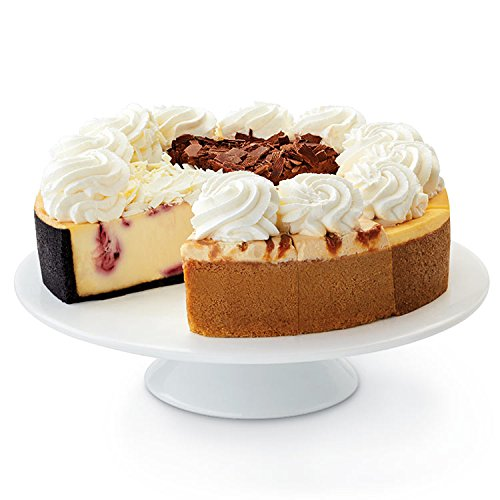 Raspberry White Chocolate Mousse - Harry & David Cheesecake Factory Sampler Cheesecake (10 Inches)