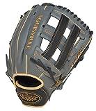 Louisville Slugger FG25GY5 125 Series Gray Fielding Glove, 12.5-Inch, Right Hand Throw