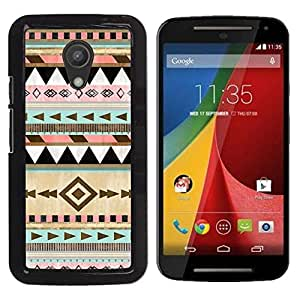 Impact Case Cover with Art Pattern Designs FOR Motorola G 2ND GEN II Native American Winter Christmas Pattern Betty shop