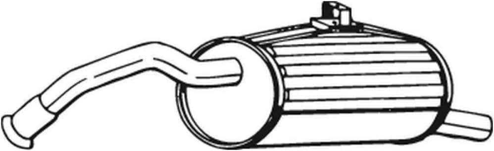 Bosal 228-087 Endschalld/ämpfer
