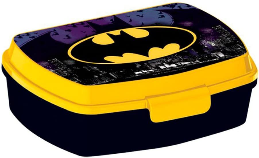 Personaje Batman - Fiambrera rectangular pequeña: Amazon.es: Hogar