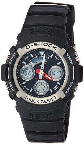 G-shock Ana Digi (Casio Men's AW590-1A G-Shock Ana-Digi Chronograph Sport Watch)
