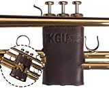 Trumpet Valve Guard By KGUBrass ✮ Leather - Limited Edition✮ (Blue)