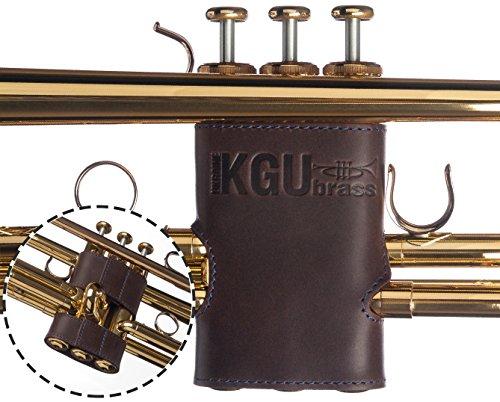 Valve Guard - Trumpet Valve Guard By KGUBrass ✮ Leather - Limited Edition✮ (Blue)