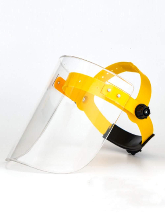 Visera protectora de cara completa 1Above Visera de pl/ástico ajustable transparente resistente