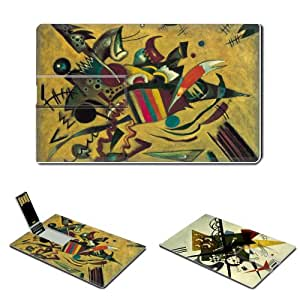Composition VII Kandinsky Paintings USB flash drive 8 GB credit card size