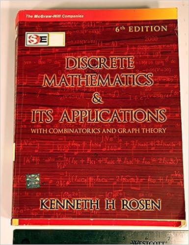 Discrete mathematics and its applications kenneth h rosen discrete mathematics and its applications kenneth h rosen 9780070648241 amazon books fandeluxe Choice Image