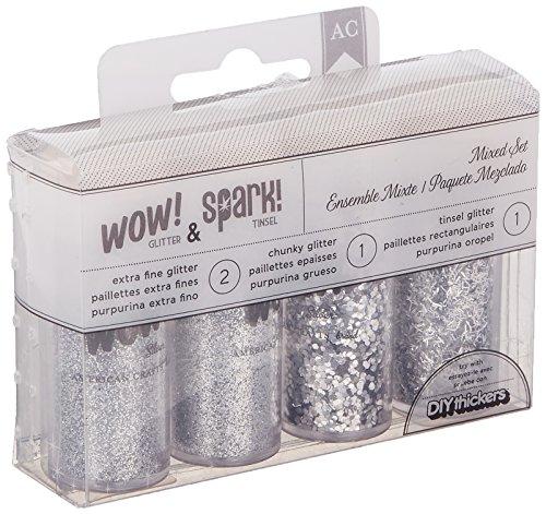 extra fine glitter silver - 9
