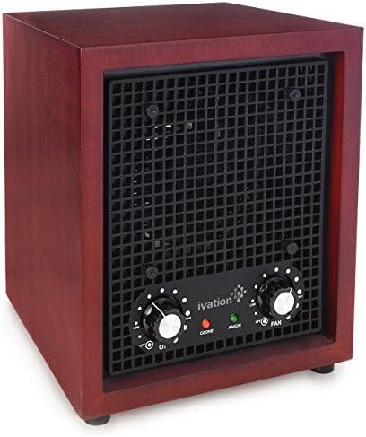 Ivation Generador de ozono purificador de Aire, ionizador y del ...