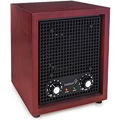 Ivation Ozone Generator Air Purifier, Ionizer & Deodorizer – Purifies Up to 3,500 Sq/Ft – Great for Dust, Pollen, Pets, Smoke & More