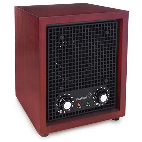 Ivation Ozone Air Purifier, Ionizer & Deodorizer - Purifies Up to 3,500 Sq/Ft - Great for Dust, Pollen, Pets, Smoke & More