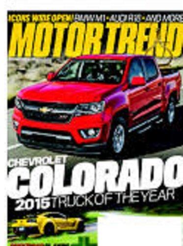 Motor Trend Magazine February 2015 Blackened Label (Motor Trend February 2015)