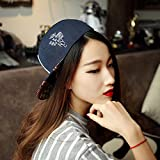 Lsinyan New Hot Deep Blue Fashion Baseball Snapback Hats and Caps for Men Cool Cotton Adjustable Sport Hip Pop Cap X Letter
