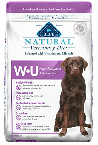 Blue Buffalo Natural Veterinary Diet Weight Management + Urinary Care for Dogs 22lbs