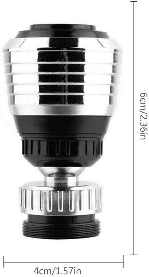 FOONEE pivotante /à 360//° Robinet A/érateur /économie deau Robinet de Cuisine de Salle de Bain Amovible Robinet Spray A/érateur Robinet A/érateur connecteur Diffuseur Buse Filtre en Maille Adaptateur