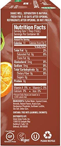 upc 859922007143 product image for nutpods NEW Dark Chocolate Orange 3-pack, unsweetened dairy-free creamer, Whole30, Paleo, Keto, Non-GMO & Vegan, for Coffee, Tea & Cooking, made from almond and coconut