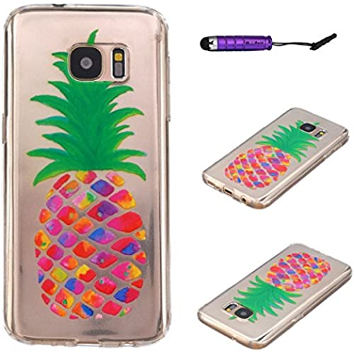 Galaxy S7 Case, Moonmini Ultra-thin Soft TPU Back Case Cover for Samsung Galaxy S7 - Pineapple Sales