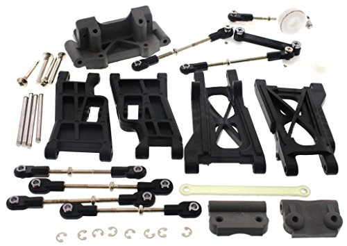 r 2.5 * FRONT/REAR ARMS TIE RODS TURNBUCKLES & SERVO SAVER * ()