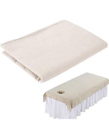 Sábanas de masaje de belleza, salón masaje SPACouch de algodón suave funda de cama Protector
