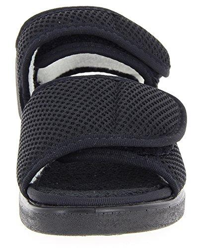 Varomed Ginevra 58.892-31 Unisex - Pantofole Per Adulti Nere