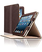 Solo Premium Leather Ascent Case for iPad , Espresso, VTA210-3