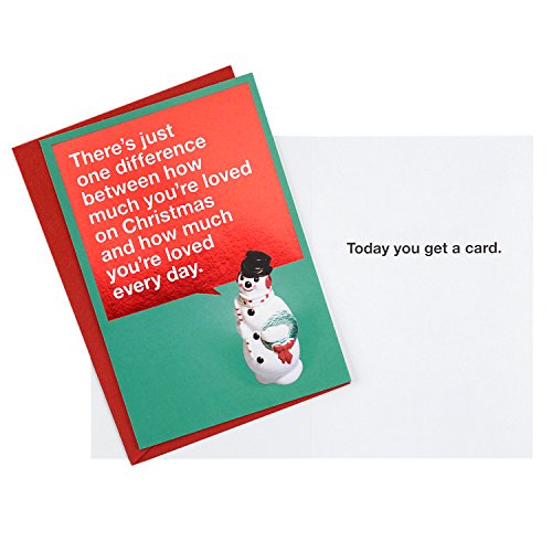 Hallmark Shoebox Funny Christmas Cards Multipack (5 Holiday Cards, 5 Envelopes) Photo #7