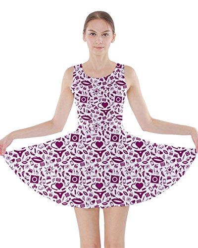CowCow Womens Flamingo Summer Cotton Racerback Dress