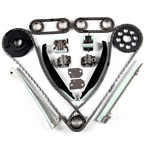(SCITOO Timing Chain Kit W/Gears fits for Lincoln Navigator Blackwood 5.4L DOHC V8)