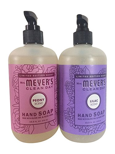 Mrs Meyer's Clean Day Limited Edition Hand Soap Bundle (Lilac and Peony)